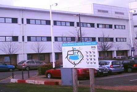 Solar Film installed at the Edinburgh Royal Infirmary